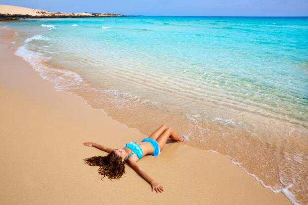 parillada en la playa