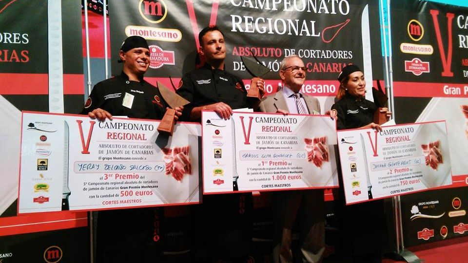 campeonato regional decanarias de cortadores de jamon