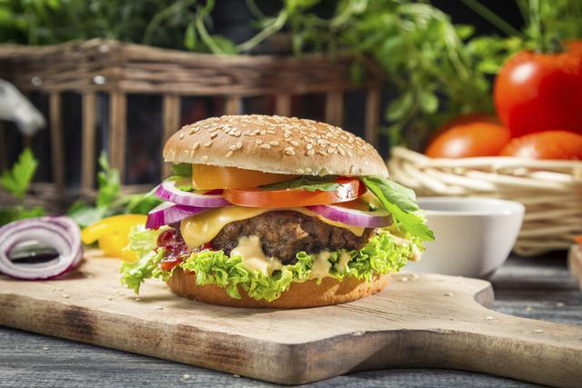 receta hamburguesa americana