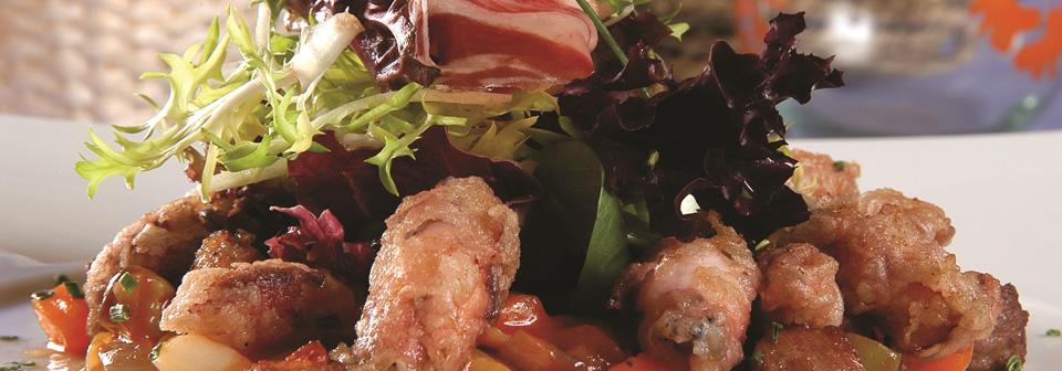 recetas ensalada jamon iberico