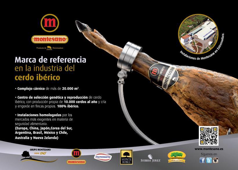 Marca de referencia - excelencia de ibericos montesano