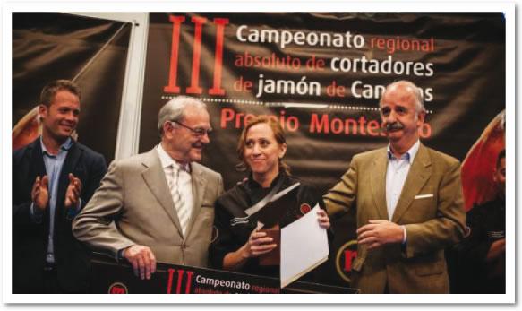 Narcisa del Rocío Gómez Gran premio Montesano