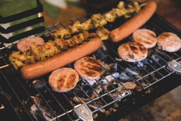 pinchos de carne barbacoa