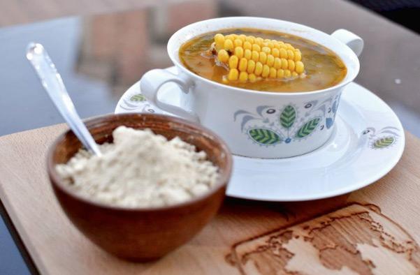 platos típicos canarios - potaje de berros