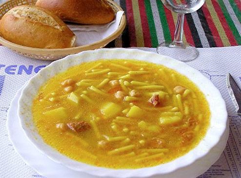 receta rancho platos típicos canarios