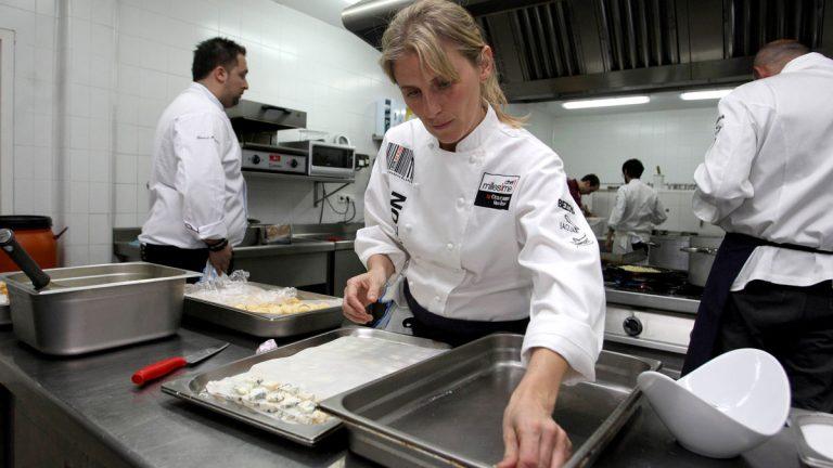 cocinera estrella michelin