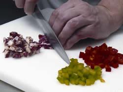 ensalada chopitos y jamón ibérico
