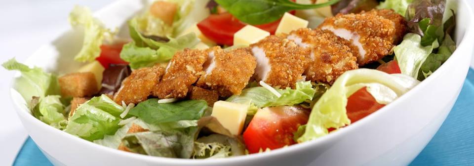ingredientes de una ensalada césar