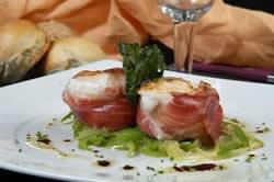 platos con jamon iberico