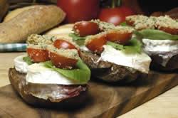 tomates gratinados con provenzal