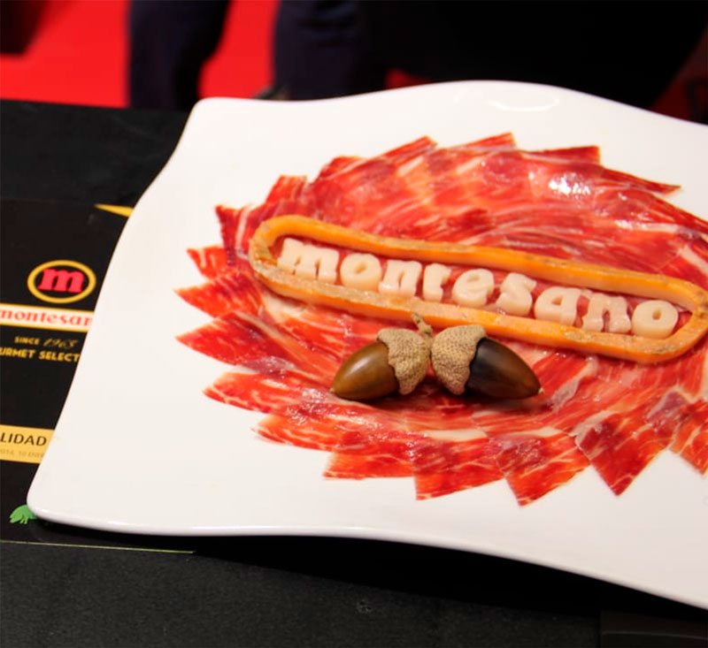 ibericos montesano en Madrid Fusion