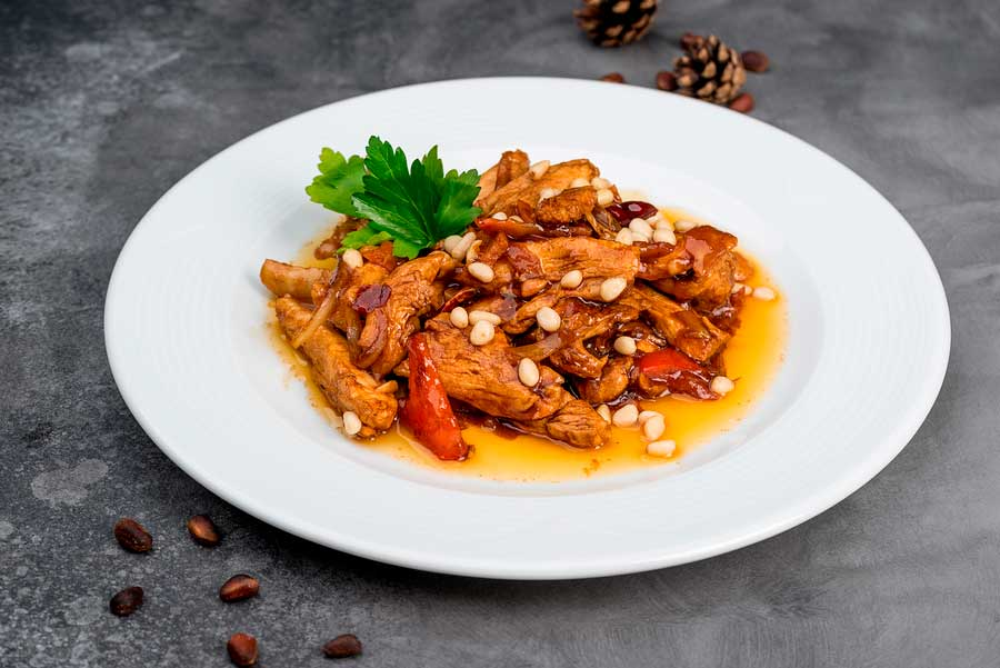 cómo preparar pavo con salsa agridulce