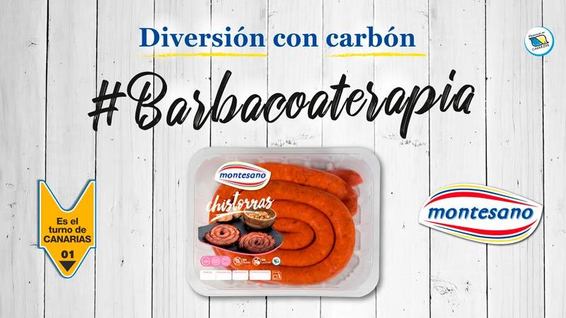 barbacoterapia diversión con carbon
