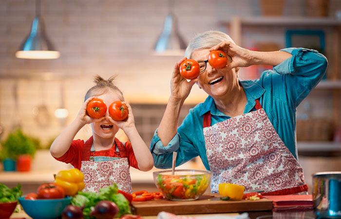 menú semanal infantil y saludable