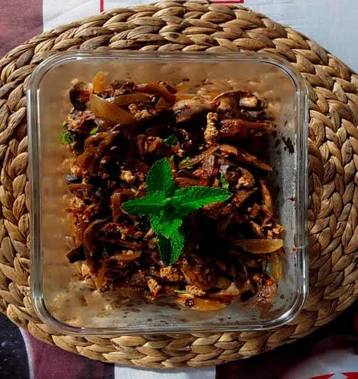 cómo preparar pechuga de pollo con champiñones