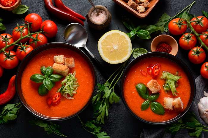 menu fresco y saludable para niños