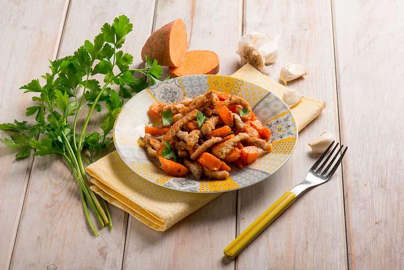 cómo preparar ternera con papas y zanahorias
