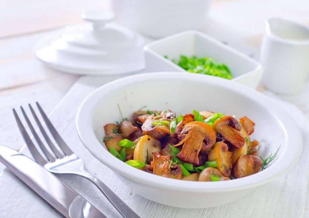 receta puerros salteados con champiñones