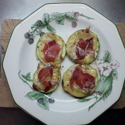 receta bubangos a la plancha con jamón serrano montesano