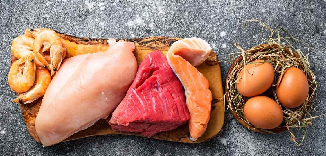 menú semanal rico en proteínas