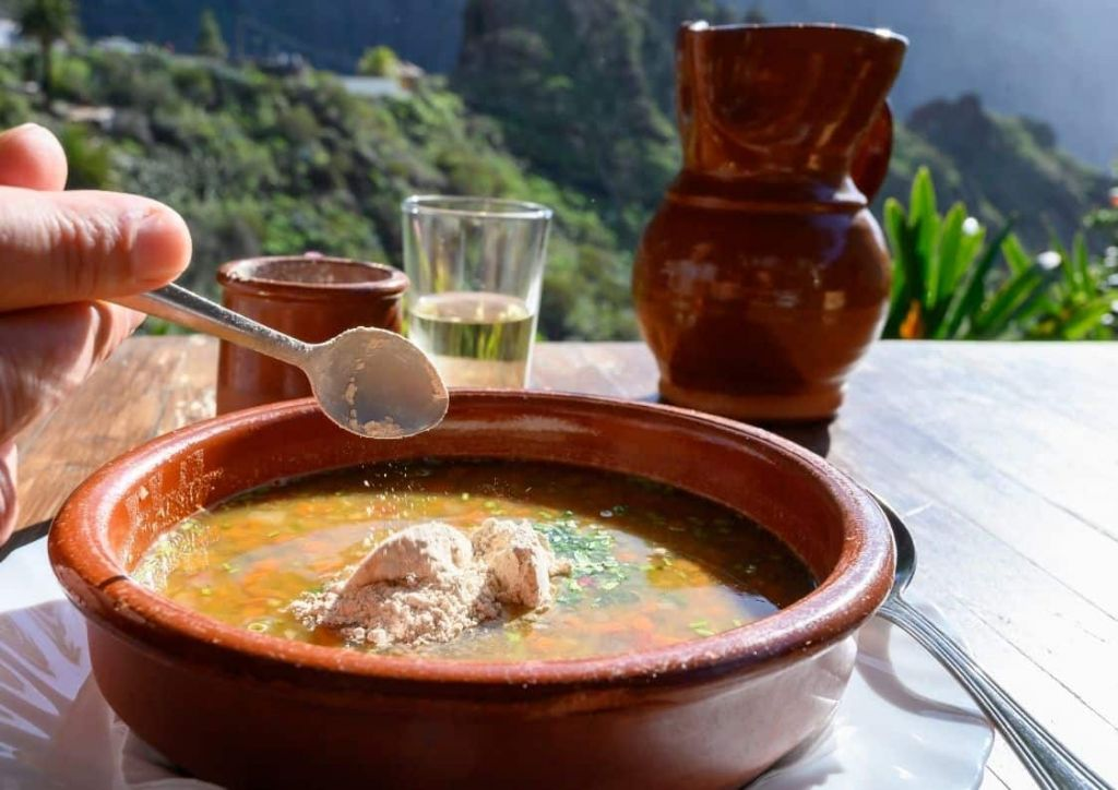 menú semanal para combatir el frío puchero canario