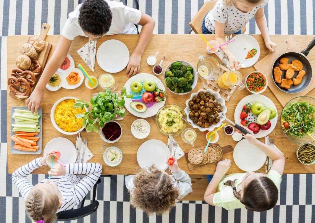 menú infantil vacaciones semana santa
