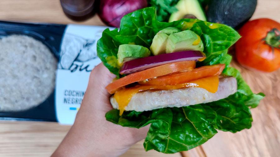 hamburguesa cochino negro recetay videoreceta